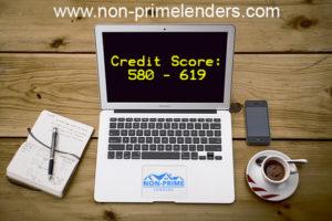 2019 Lenders in Non 580 Lenders Score Mortgage - Prime Credit
