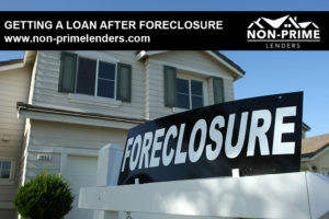 Getting a Loan After Foreclosure